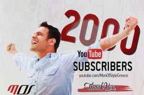 2000+ Subscribers στο YouTube Channel του Men Of Style!