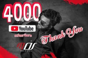 4000 YouTube Subscribers Στο Κανάλι του Men Of Style!